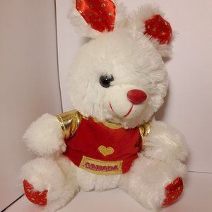 Vintage Lucky Rabbit Plush 8 inches NWOT